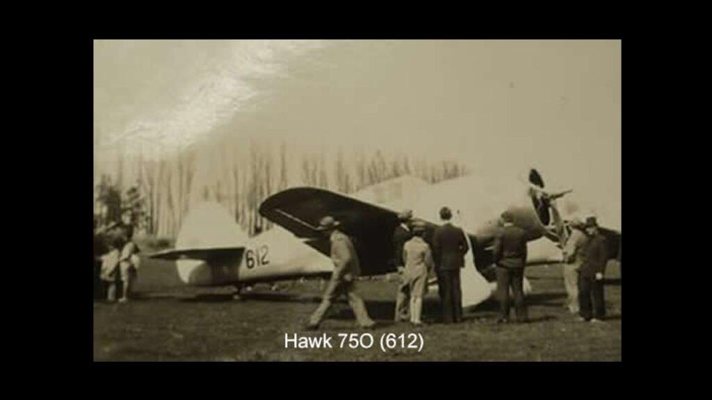 Curtiss 75 Hawk-9