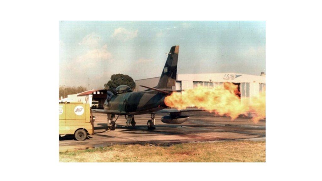 Sabre F86 F-17
